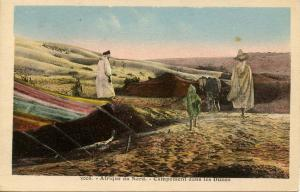 Africa - North. Desert Encampment