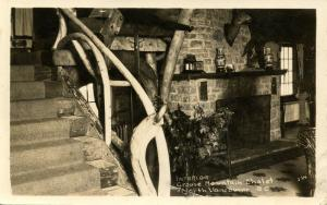 Canada - BC, North Vancouver. Grouse Mountain Chalet, Interior.   *RPPC