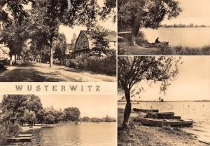 Wusterwitz Street Houses See Lake Boats Bateaux Lac