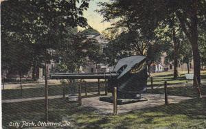 Scenic view,  City Park,  Ottumwa,  Iowa,  PU_1909