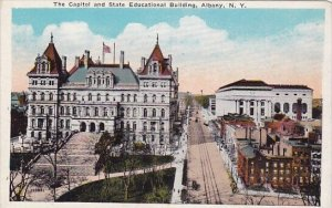New York Albany The Capital And State Educational Building