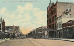 DENISON , Texas, 1900-10s ; Main Street