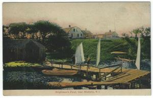 Westerly, Rhode Island,  Early View of Brightman's Pond