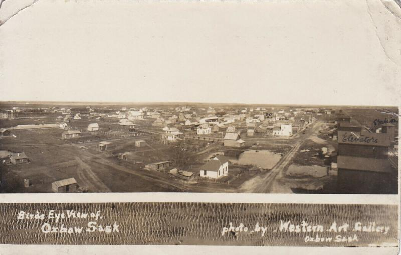 RP: Birds Eye View , OXBOW , Saskatchewan , Canada , 00-10s