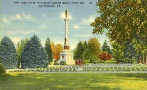 PA - Gettysburg. New York State Monument