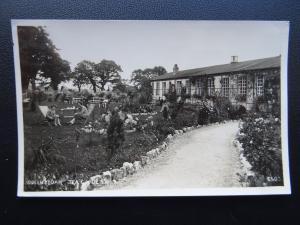 North Wales BODELWYDDAN Tea Gardens - Old RP Postcard by Photochrom Co.