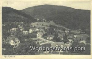 Herrenalb Germany, Deutschland Postcard  Herrenalb