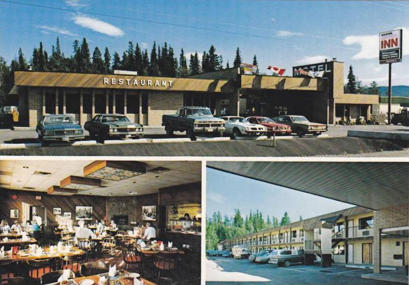 Motor Inn , HOUSTON  , B.C. , Canada , 50-70s