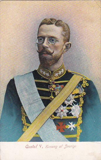 Gustaf V, Konung af SVERIGE, PU-1911