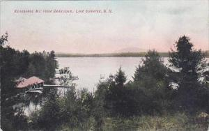 New Hampshire Lake Sunapee Kearsarge Mount From Granliden 1908