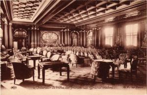 CPA Paquebot ILE-DE-FRANCE Le Grand Salon SHIPS (704240)