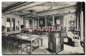 Postcard Former Bank Credit Lyonnais Paris of the foreign office of the readi...