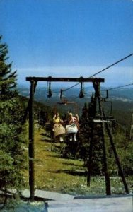 Terry Peak Chair Lift - Deadwood, South Dakota