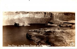 Washington Grand Coulee Dry Falls 1948 Real Photo
