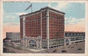 Illinois Chicago La Salle Street Station