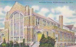 Pennsylvania Northumberland Methodist Church