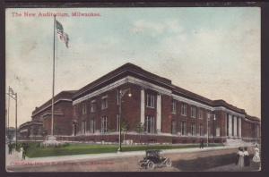 The New Auditorium,Milwaukee,WI Postcard