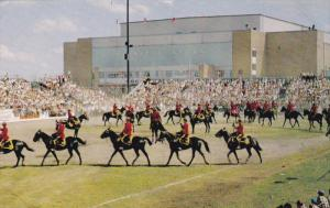 Royal Canadian Mounted Police Musical Ride, Red River Exhibition , WINNIPEG ,...