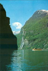 Norway, Norge, Geirangerfjorden, unused Postcard