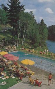 Heated Swimming Pool, Cardy-Alpine Inn, Ste. Marguerite Sta., Quebec, Canada,...