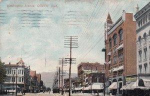 OGDEN , Utah , 1911 , Washington Avenue