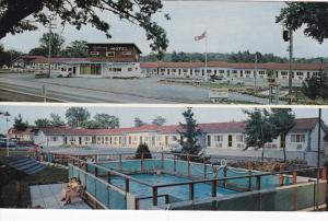 Gateway Motel, 1000 Islands, Swimming Pool, GANANOQUE, Ontario, Canada, 40-60s