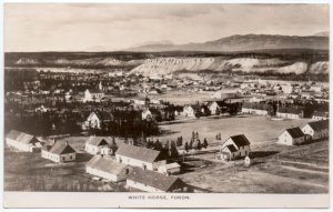Real Photo Postcard Overview of Whitehorse, Yukon, Canada~107158