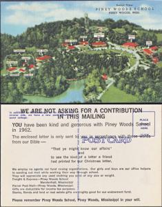 Piney Woods MS - Aerial view of Piney Woods School.1950s
