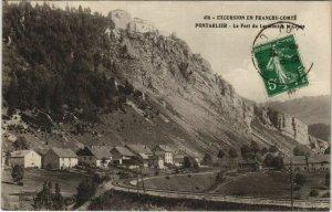 CPA PONTARLIER - La Fort du Larmont et la Cluse (131349)