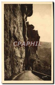 Old Postcard Gorges Du Tarn A Tunnel Cirque des Baumes