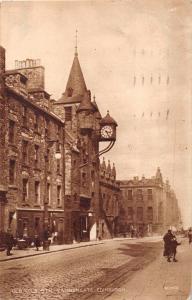 EDINBURGH SCOTLAND UK~OLD TOLBOOTH CANONGATE ~PHOTOGRAVURE SERIES POSTCARD 1927