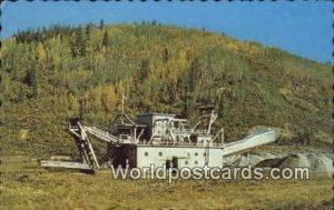 Gold Dredge, Dawson City Yukon Canada 1967
