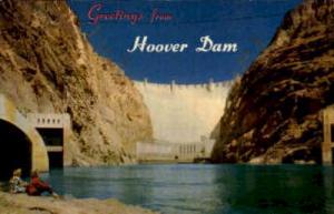 Greetings from HOOVER DAM Hoover (Boulder) Dam NV Unused