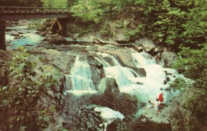 Postcard The Sinks Great Smoky Mountains National Park Little River