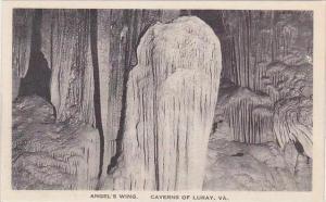 Virginia Caverns Of Luray Angels Wing Albertype