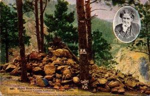 Colorado Colorado Springs South Cheyenne Canon Chey7enne Mountain Helen Hunt&...