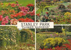 Flower Gardens Stanley Park Vancouver British Columbia Canada