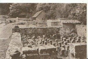 Gloucestershire Postcard - Roman Villa - Chedworth - Ref 14745A