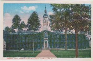 Nassau Hall, Princeton University, Princeton, New Jersey 1910-20s