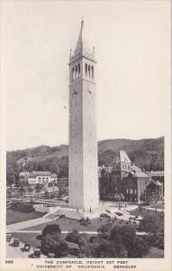California Berkeley The Campanile Height 307 Feet University Of California Al...