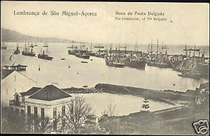 portugal, azores acores, PONTA DELGADA, Doca Breakwater