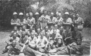 Military, ancient, antique, Group Photo