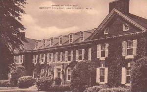North Carolina Greensboro Annie Merner Hall Bennett College Artvue