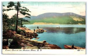 1908 Crow's Nest on the Hudson River, NY Postcard