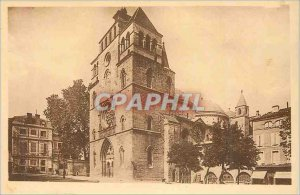 Postcard Old Cahors Cathedral