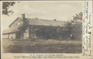 Eaton NY? Georgetown Old Muller House 1907 Real Photo Postcard