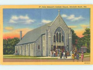Linen CHURCH SCENE Rehoboth Delaware DE p4763