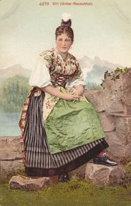 Local Girl , Uri , Switzerland , 00-10s