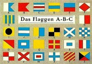 Das Flaggen A-B-C Flags