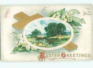 Divided-Back BEAUTIFUL FLOWERS SCENE Great Postcard AA2294